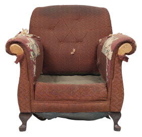 Furniture Medic of Brampton Upholstery and Leather Furniture Repairs and Restoration Before
